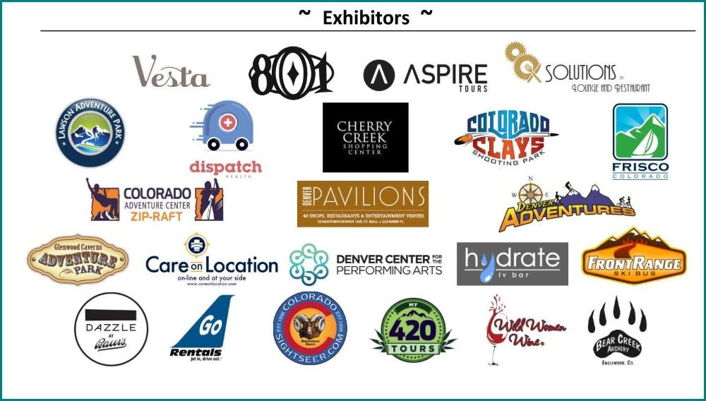 Keys to the Rockies - Presented by the Concierge Association of Colorado 2017 Exhibitors